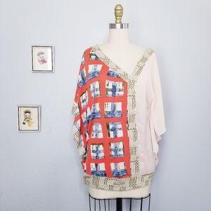 Anthropologie vanessa virginia askew blouse